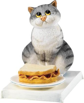 """Статуэтка """"Любитель бекона"""" (Bacon Butty), 9см Enesco A24899"""