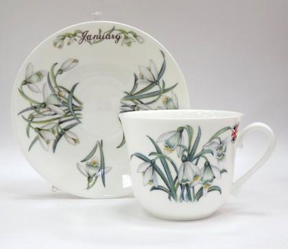 Чайная пара для завтрака Январь, 500мл Roy Kirkham COFOTMJA1101
