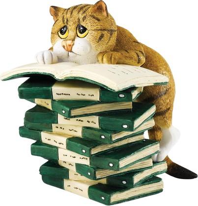 "Статуэтка ""Книголюб"" (Book Club), 9.5см Enesco A23826"