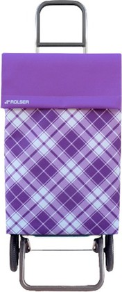Сумка-тележка хозяйственная фиолетовая Rolser RG JEA021malva