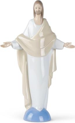 Статуэтка фарфоровая Иисус Христос (Jesus Christ) 30см NAO 02001440