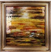 Картина стеклянная Сансет Вояж 50x50см Top Art Studio LG1226-TA