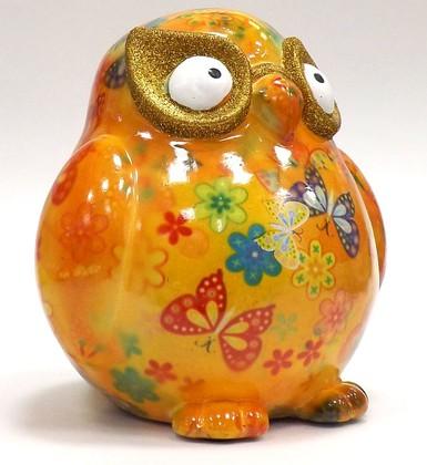 Копилка Сова ERROL жёлтая Pomme-Pidou 148-00037/5