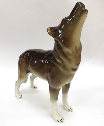 Скульптура Волк стоящий ИФЗ 82.06371.00.1