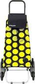 Сумка-тележка хозяйственная MOU085 черная/жёлтая RD6 Rolser MOU085negro/lima