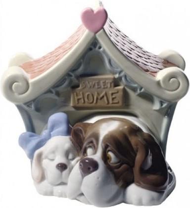 Статуэтка фарфоровая Милый дом (Sweet Home) 14см NAO 02001748
