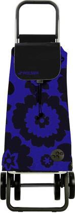 Сумка-тележка хозяйственная сине-чёрная Rolser LOGIC DOS+2 PAC007azul/negro