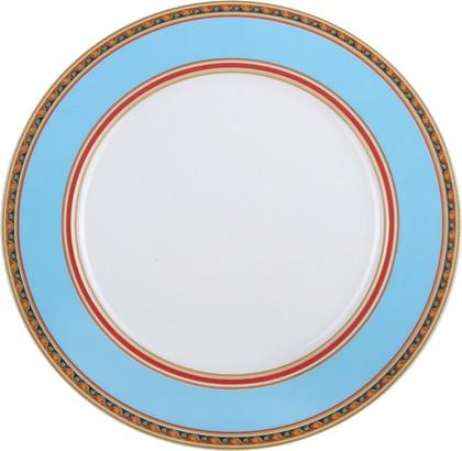 Тарелка Бирюза 250мм, ф. Европейская-2 ИФЗ 80.86201.00.1