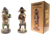 Статуэтка собака Певец 35см The Leonardo Collection LP27581