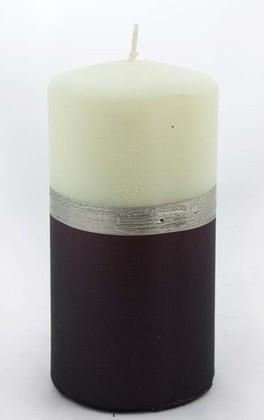 "Свеча ""Мокка"" колонна 7х14см Bartek Candles 213012"
