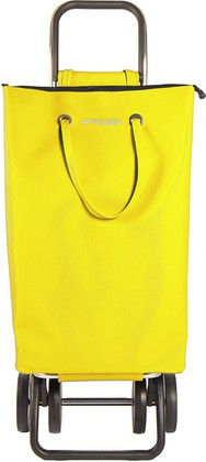 Сумка-тележка хозяйственная жёлтая Rolser LOGIC DOS+2 SUP002amarillo