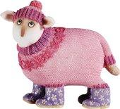 "Статуэтка ""Забавная овечка Флора"" (Flora) 9см Enesco A6117"