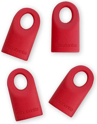 Силиконовые колпачки 4шт., красные Brabantia 464003