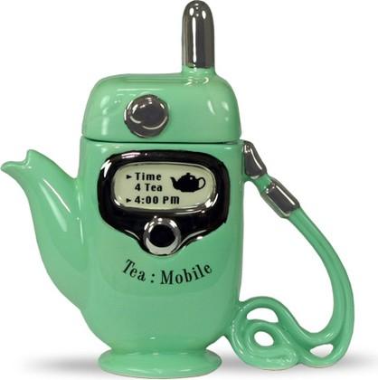 "Чайник коллекционный ""Мобильник"" (Mobile Phone Teapot) The Teapottery 4442"