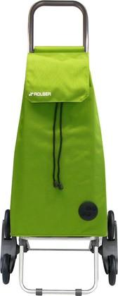 Сумка-тележка хозяйственная зелёный лайм Rolser RD6 MOUNTAIN MOU004lima