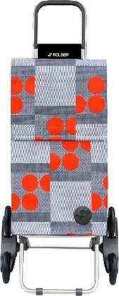 Сумка-тележка хозяйственная красная Rolser RD6 PARIS PAR026rojo
