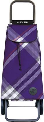 Сумка-тележка хозяйственная фиолетовая Rolser LOGIC RG PAC029more