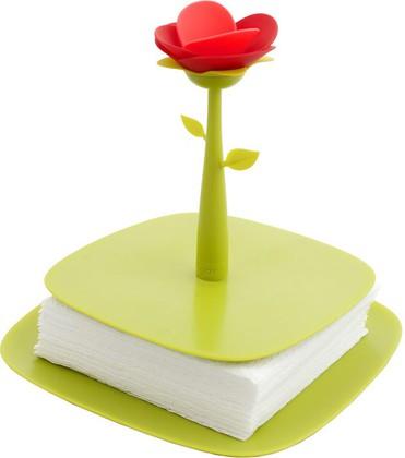 Подставка для салфеток зелёная Vigar Rose 5330