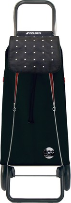 Сумка-тележка хозяйственная чёрно-красная Rolser Logic RG IMX016negro/rojo