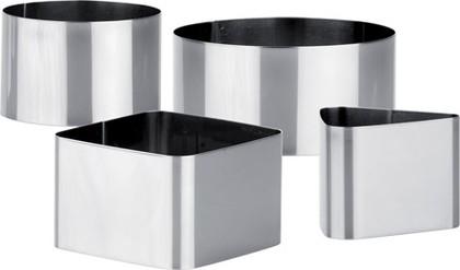 Формочки для придания формы продуктам, 4шт Tescoma CHEF 428262