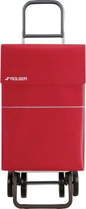 Сумка-тележка хозяйственная красная DOS+2 Rolser DML006rojo