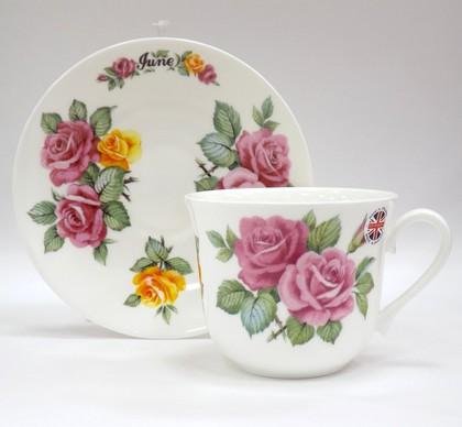 Чайная пара для завтрака Июнь, 500мл Roy Kirkham COFOTMJUN1101