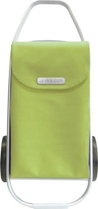 Сумка-тележка хозяйственная салатовая ROLSER MF8 COH003citric