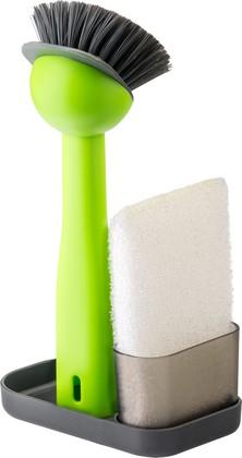 Щётка и губка для посуды на подставке Vigar Rengo 7171