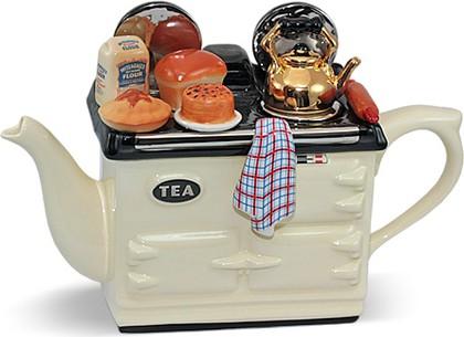 "Чайник коллекционный ""С выпечкой"" (Baking Day Aga Teapot) The Teapottery 4401"