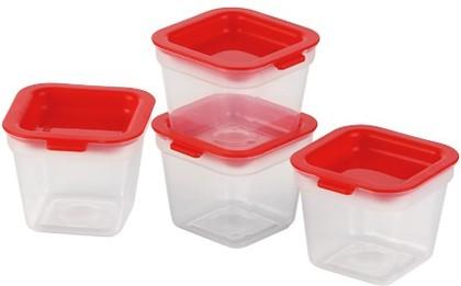 Мини-контейнеры для заморозки, 120мл, 4шт Tescoma Purity 891872