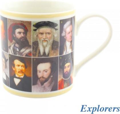 Кружка Знаменитые исследователи, 350мл Leonardo Collection LP92231