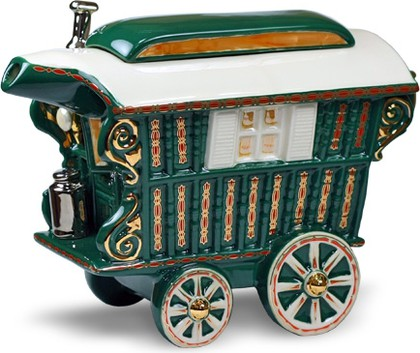 "Чайник заварочный ""Чайный экипаж"" (повозка на колесах) The Teapottery 4453"