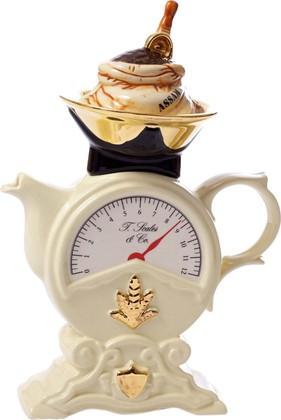 """Чайник коллекционный """"Весовая категория"""" (Scales Teapot) The Teapottery 4455"""