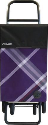 Сумка-тележка хозяйственная сиреневая Rolser CLA007giro