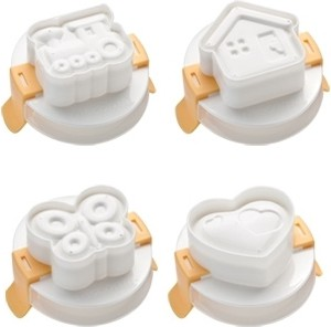 Формочка для придания яйцу формы, 4шт Tescoma Presto 420658