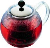 Чайник заварочный с пластиковым поршнем пресса, 0.5л Bodum ASSAM 1823-16