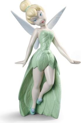 Статуэтка фарфоровая Фея Динь-Динь (Tinker Bell) 24см NAO 02001836