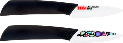 Нож для овощей 7,5см Mikadzo IMARI-W IKW-01-8.6-PA-75