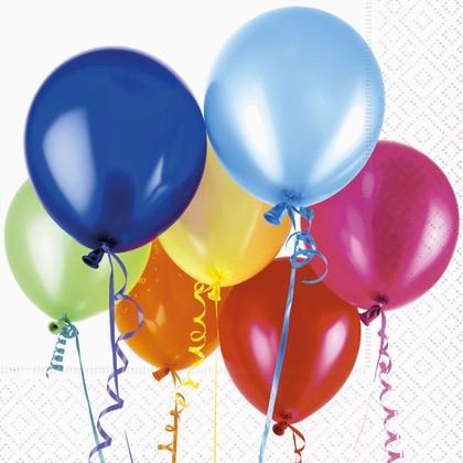 Салфетки для декупажа Летающие шары 33x33см, 3 слоя, 20шт Paper+Design LN0825