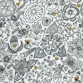 Салфетки Цветочная Мандала, 33x33см, 20шт Paper+Design 200262