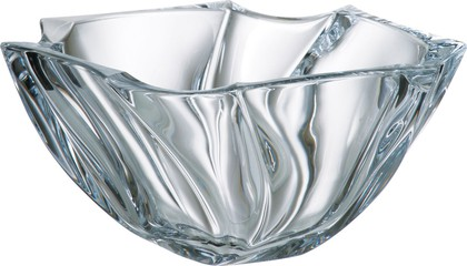 """Ваза для фруктов """"Нептун"""" 25,5см Crystalite Bohemia 6KD68/0/99S39/255"""