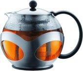 Чайник заварочный c прессом, 0.5л, хром Bodum Kenya 10695-16