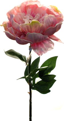 "Цветок искуственный ""Пион"" светло-сиреневый, 75см Top Art Studio HSD0303-TA"