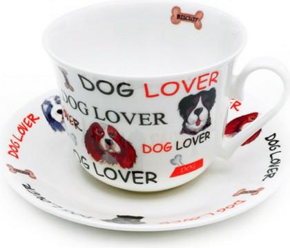 """Чайная пара """"Обожаю собак"""" Roy Kirkham XLOVD1100"""