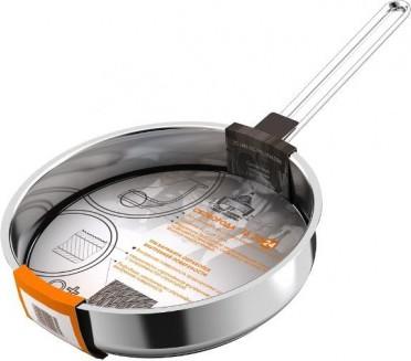 Сковорода гриль 24см тройное дно ВСМПО Гурман-Классик 9207245