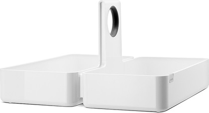 Кухонная подставка-органайзер L белая Brabantia 423529