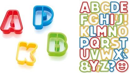 Формочки азбука, 34шт. Tescoma DELICIA Kids 630925