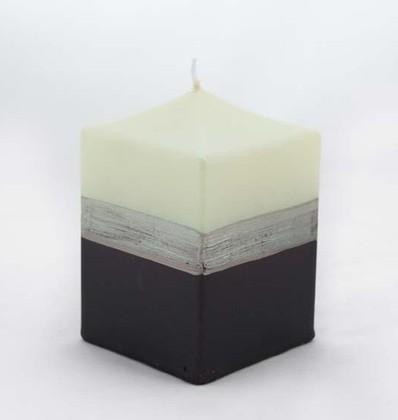 """Свеча """"Мокка"""" блок 6х6х10см Bartek Candles 213021"""