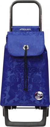 Сумка-тележка хозяйственная компактная синяя Rolser JOY-1800 BABY BAB008azul