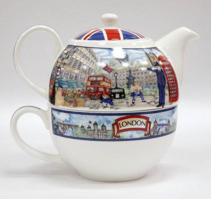Чайник заварочный на одного Пикадилли, 0.5л James Sadler IBOBT41P9